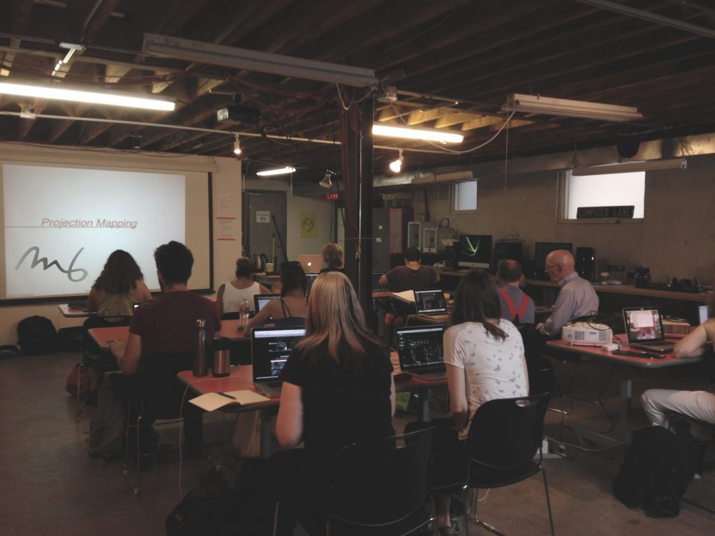 Projection Mapping Workshops